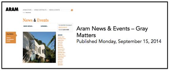 Aram 15 Sept
