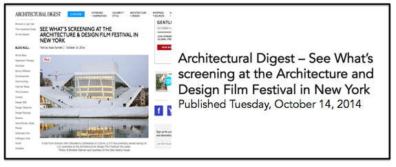Architectural Digest 14 Oct