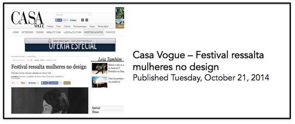 Casa Vogue 21 oct