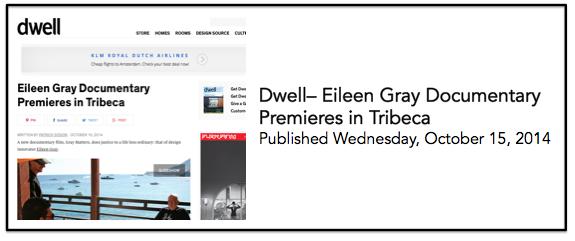 Dwell 15 Oct
