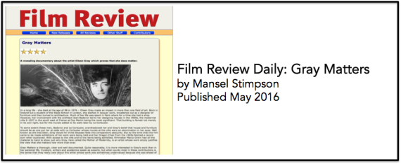 film review daily May 2016